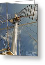 The Mainmast Of The Amazing Grace Greeting Card