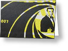 The Man With The Golden Gun Greeting Card