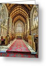 The Marble Church Interior Greeting Card