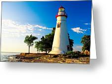 The Marblehead Light Greeting Card