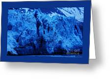 The Margerie Glacier 1 Greeting Card