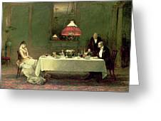 The Marriage Of Convenience, 1883 Greeting Card by Sir William Quiller Orchardson