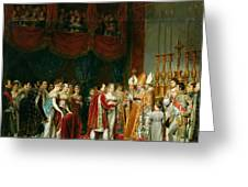 The Marriage Of Napoleon I 1769-1821 And Marie Louise 1791-1847 Archduchess Of Austria, 2nd April Greeting Card