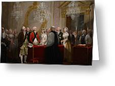 The Marriage Of The Duke And Duchess Of York Greeting Card