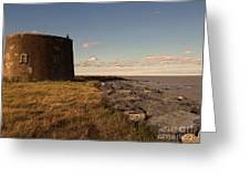 The Martello Tower Greeting Card