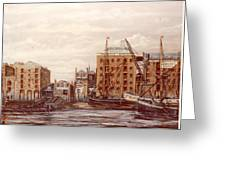 The Mayfloer Pub Rotherhithe London Greeting Card