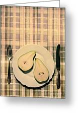 The Meal Of The Day Greeting Card