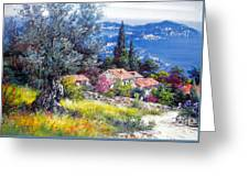 The Med Sea In Summertime Greeting Card