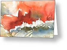 The Menerbes Where Nicolas De Stael Lived Greeting Card