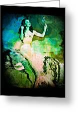 The Mermaid Mirror Greeting Card