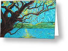 The Mermaid Tree Greeting Card