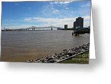 The Mighty Mississippi Greeting Card