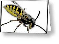 The Mighty Wasp Greeting Card