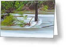 The Milky River Greeting Card