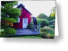 The Mill At Kimberton Greeting Card