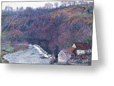 The Mill At Vervy Greeting Card