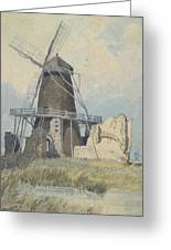 The Mill St Benet's Abbey Greeting Card