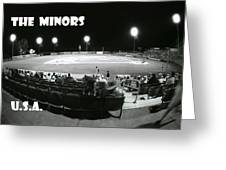 The Minors Usa Greeting Card