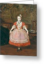 The Minuet  Greeting Card