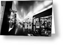 the miracle mile shops at planet hollywood casino Las Vegas Nevada USA Greeting Card