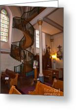 The Miraculous Staircase Greeting Card