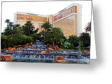 The Mirage Greeting Card by Andrea Dale