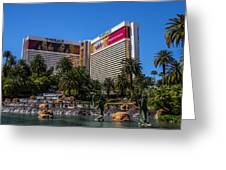 The Mirage Greeting Card
