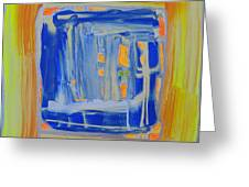 The Mirror. Greeting Card