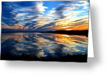 The Mirror Lake Greeting Card