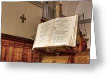 The Missal Greeting Card