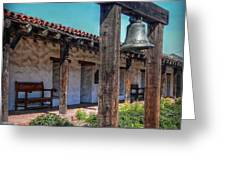 The Mission Bell Greeting Card
