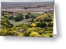 The Missouri River Valley Greeting Card