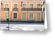 The Mistress' House - Solar Da Marquesa De Santos Greeting Card