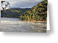 The Mists Of Watauga Greeting Card