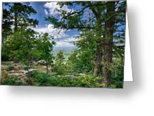The Mogollon Rim  Greeting Card