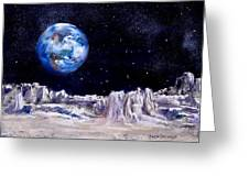 The Moon Rocks Greeting Card by Jack Skinner