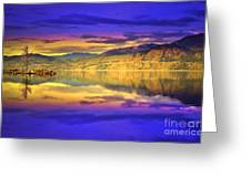 The Morning Glow Greeting Card