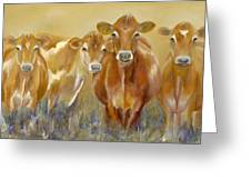 The Morning Moo Greeting Card