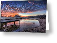 The Morning Sky Greeting Card