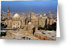 The Mosque Of Al-azhar Greeting Card