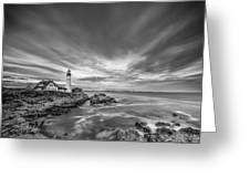 The Motion Of The Lighthouse Greeting Card