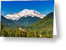 The Mountain And The Valley Greeting Card