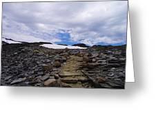 The Muir Trail Greeting Card