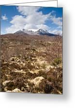 The Munro Of Sgurr Nan Fhir Duibhe Greeting Card