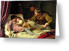The Murder Of The Sons Of Edward Iv Greeting Card
