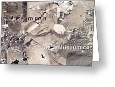 The Museum Con Greeting Card