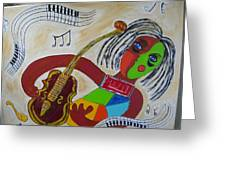 The Music Practitioner Greeting Card
