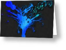 The Music Tree Greeting Card