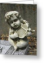 The Musician 01 Greeting Card