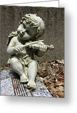 The Musician 03 Greeting Card